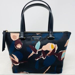 Kate spade insulated tote Dawn paper rose nylon